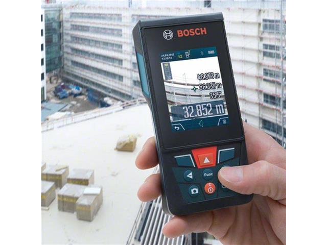 Trena à Laser Bosch GLM 120C com Função Bluetooth 120 Metros - 2