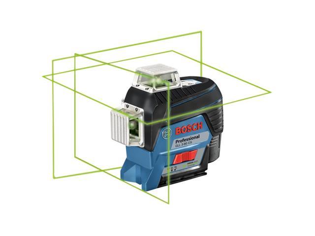 Nível à Laser Bosch GLL 3-80CG 360°com Receptor de Alcance 30 Metros - 1