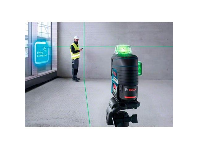 Nível à Laser Bosch GLL 3-80CG 360°com Receptor de Alcance 30 Metros - 3