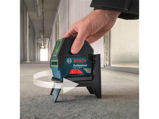 Nível à Laser de Linhas Verdes Bosch GCL 2-15G Profissional 15 Metros - 2