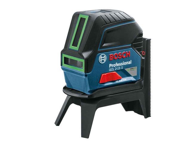 Nível à Laser de Linhas Verdes Bosch GCL 2-15G Profissional 15 Metros