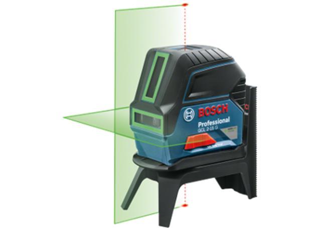 Nível à Laser de Linhas Verdes Bosch GCL 2-15G Profissional 15 Metros - 1