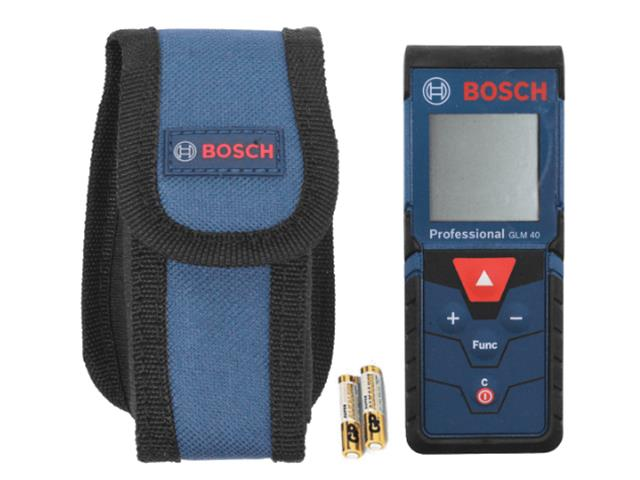 Trena à laser Bosch GLM 40 Metros