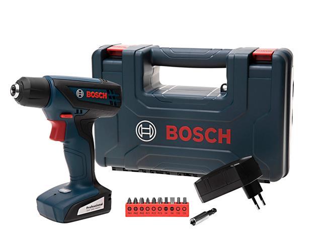 """Parafusadeira e Furadeira Bosch 1/4"""" 12V GSR1000 Smart Bivolt"""
