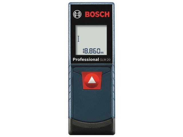 Trena à Laser Bosch GLM20 até 20 Metros