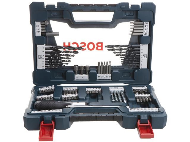 Conjunto de Ferramentas Bosch V-Line com 91 Peças - 8