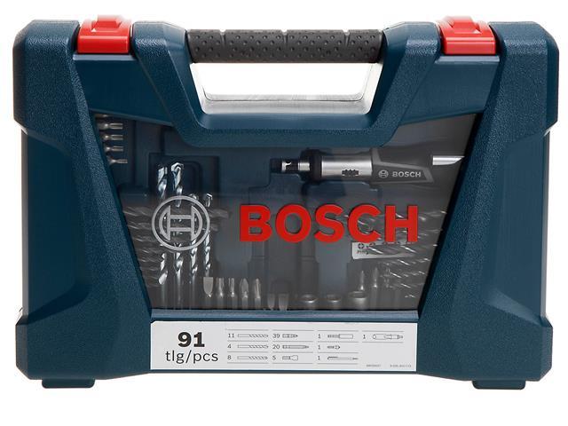 Conjunto de Ferramentas Bosch V-Line com 91 Peças - 9