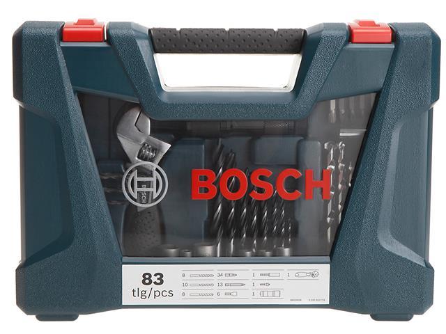 Mala de Ferramentas Bosch V-Line com 83 Unidades - 9