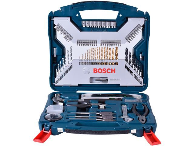 Kit de Acessórios Bosch X-Line com 103 Unidades