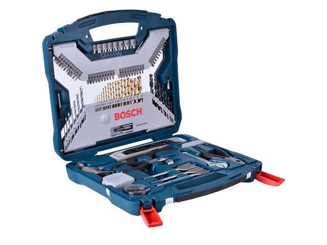 Kit de Acessórios Bosch X-Line com 103 Unidades - 1