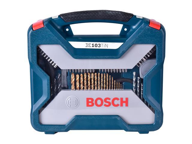 Kit de Acessórios Bosch X-Line com 103 Unidades - 3