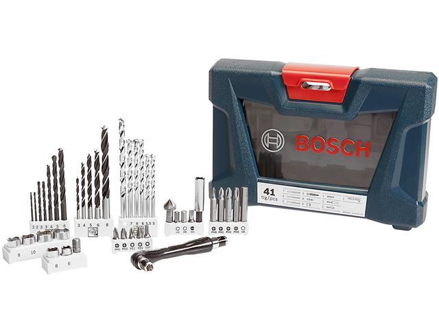 Mala de Acessórios Bosch X-Line com 41 Unidades