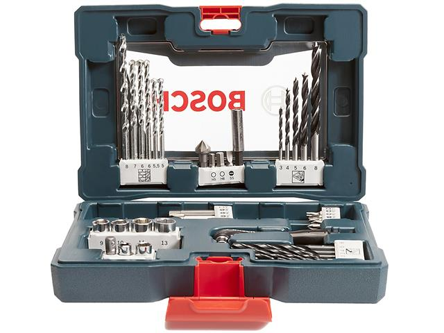 Mala de Acessórios Bosch X-Line com 41 Unidades - 3