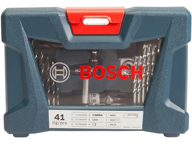 Mala de Acessórios Bosch X-Line com 41 Unidades - 4