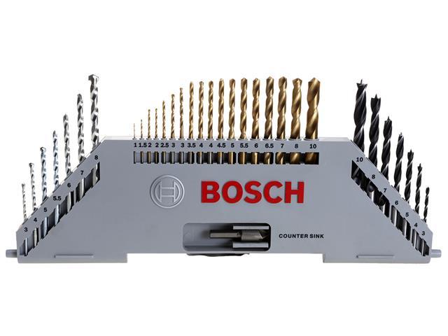 Conjunto de Ferramentas Bosch X-Line Titânio 100 Peças - 2