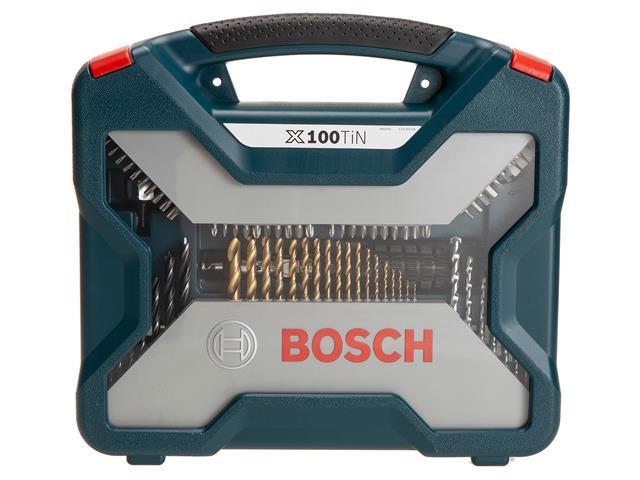 Conjunto de Ferramentas Bosch X-Line Titânio 100 Peças - 9