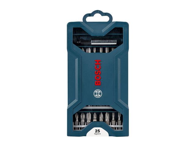 Jogo de Bits Bosch Mini X-Line 1/4 25 Peças - 2