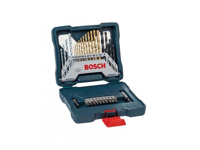 Mala de Ferramentas Bosch X-Line Titânio 30 Peças