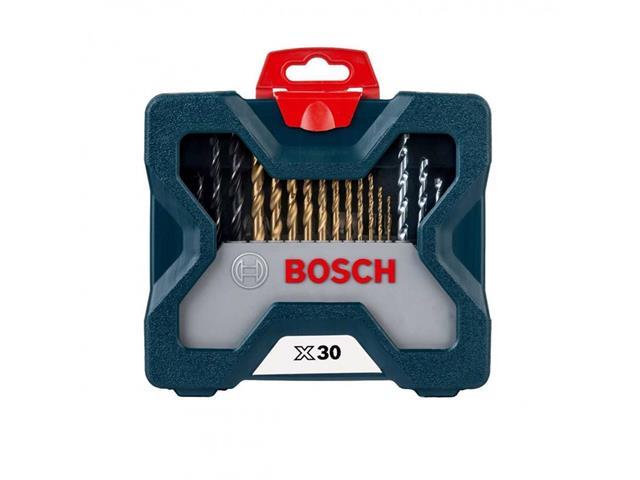 Mala de Ferramentas Bosch X-Line Titânio 30 Peças - 1