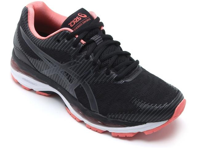 Tênis Asics Gel-Ziruss 2 Black/Dark Grey Feminino