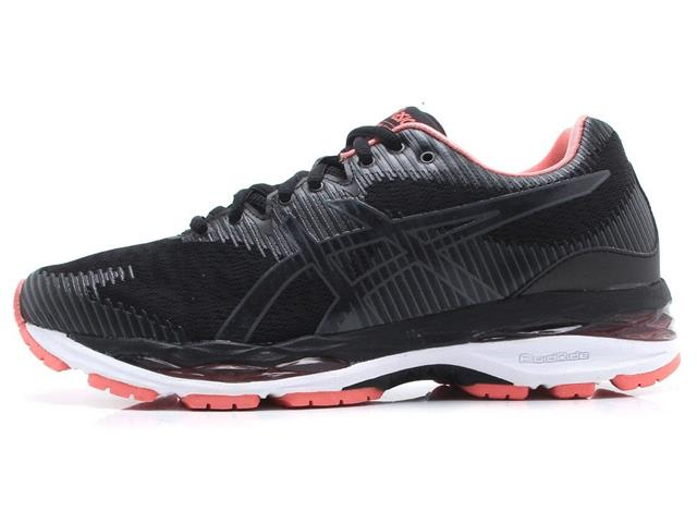 Tênis Asics Gel-Ziruss 2 Black/Dark Grey Feminino - 2