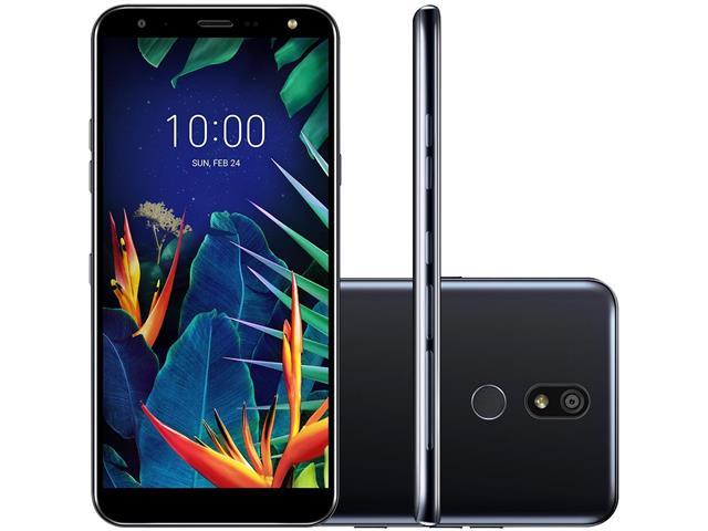 Smartphone LG K12+ IA 4G 32GB Dual Chip Tela 5.7 CAm 16MP+8MP Preto - 1