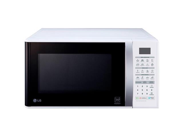 Micro-ondas Solo 30L LG EasyClean™ 16 Programas 800W Branco
