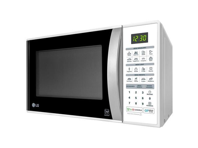 Micro-ondas Solo 30L LG EasyClean™ 16 Programas 800W Branco  - 1