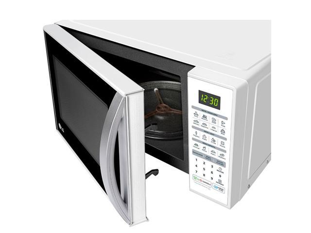 Micro-ondas Solo 30L LG EasyClean™ 16 Programas 800W Branco  - 4