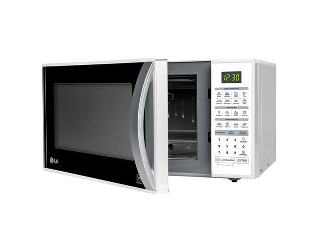 Micro-ondas Solo 30L LG EasyClean™ 16 Programas 800W Branco  - 5