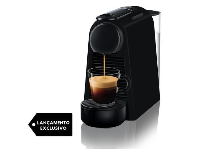 Cafeteira Nespresso Automática Essenza Mini D30 Matt Black 220V - 1