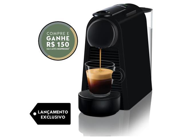 Cafeteira Nespresso Automática Essenza Mini D30 Matt Black 220V
