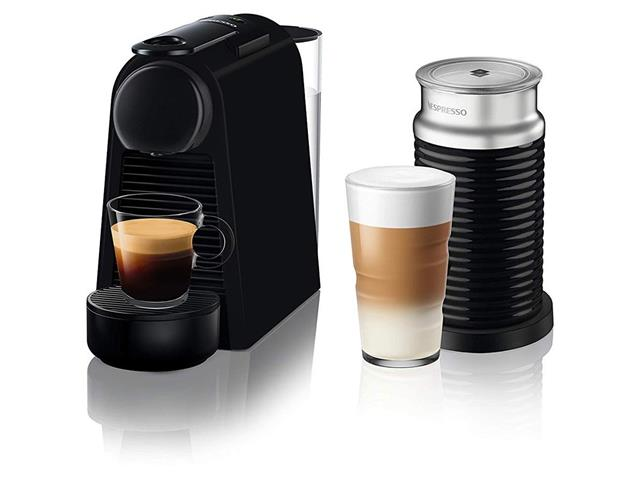 Combo Cafeteira Nespresso Essenza Mini Matt Black + Aeroccino 3 220V - 2