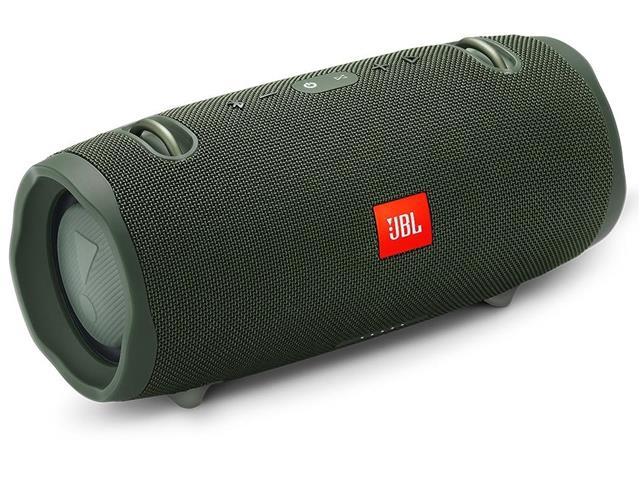 Caixa de Som Bluetooth JBL Xtreme 2 à prova d'água 40W Verde