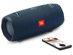 Caixa de Som Bluetooth JBL Xtreme 2 à prova d'água 40W Azul - 5