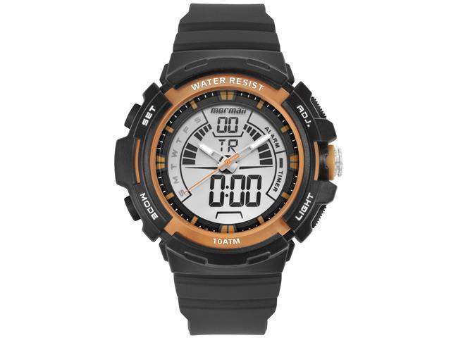 Relógio Mormaii Masculino MOAD08902/8R Acqua Grafite Digital Analógio