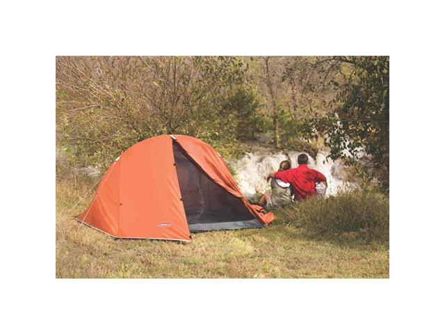 Barraca de Camping Coleman Hooligan Laranja com Sobreteto 2 Pessoas - 5