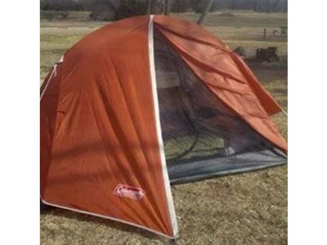 Barraca de Camping Coleman Hooligan Laranja com Sobreteto 2 Pessoas - 3