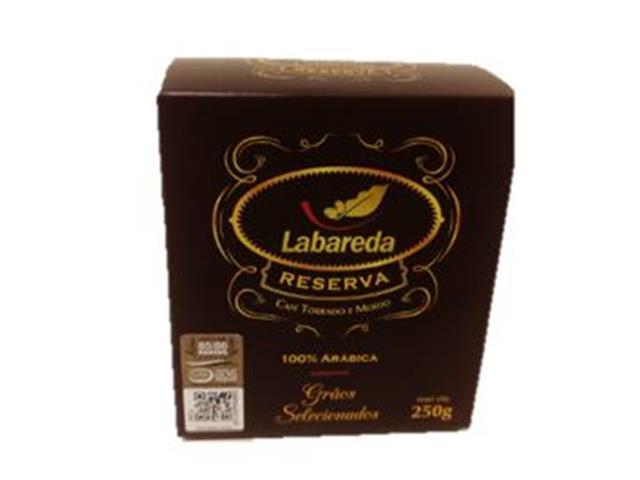 Café Labareda Reserva Torrado e Moído 250g(combo c/ 12 unid.) - 1