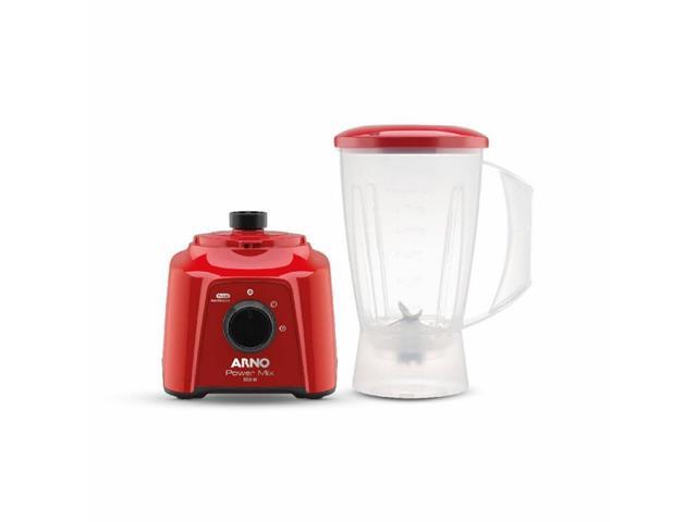 Liquidificador Arno Power Mix Vermelho 550W - 1