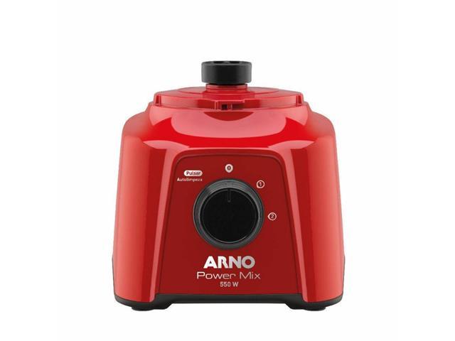 Liquidificador Arno Power Mix Vermelho 550W - 3