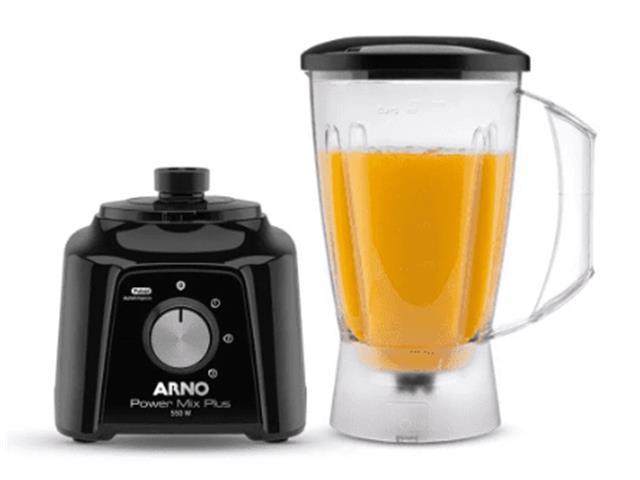 Liquidificador Arno Power Mix Plus Preto 550W - 1