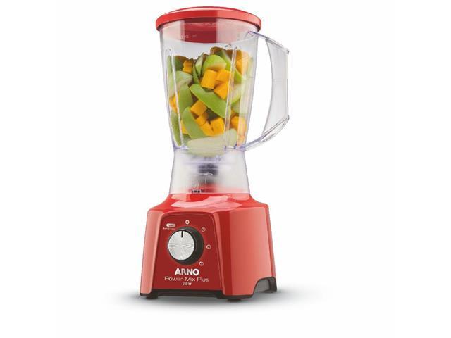 Liquidificador Arno Power Mix Plus Vermelho 550W