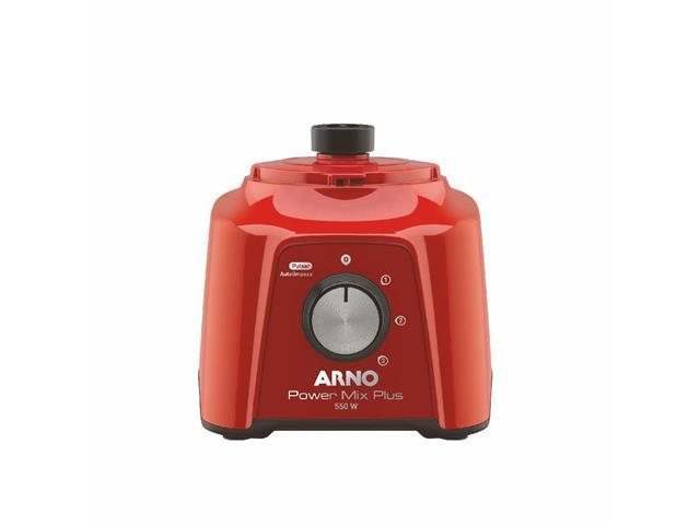 Liquidificador Arno Power Mix Plus Vermelho 550W - 2