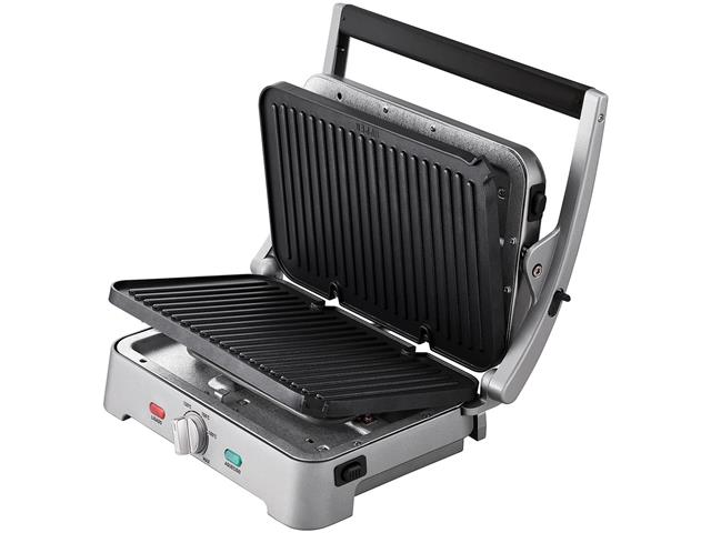 Grill e Sanduicheira Arno Destacável Premium Inox 1200W - 3