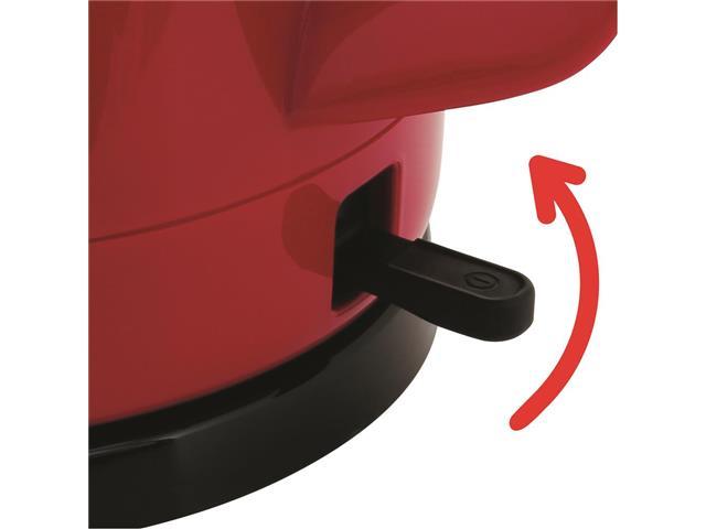 Chaleira Elétrica Arno Uno Vermelha 1,5 Litros - 3