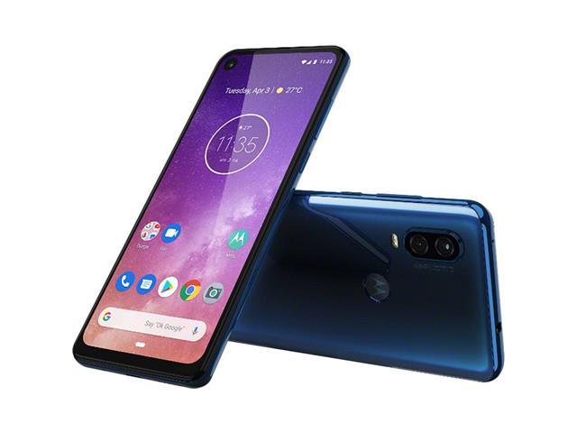 "Smartphone Motorola One Vision 128GB 6.3"" 4G Câmera 48+5MP Azul Safira - 1"
