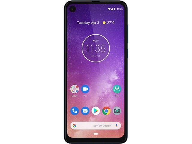 "Smartphone Motorola One Vision 128GB 6.3"" 4G Câmera 48+5MP Azul Safira - 3"