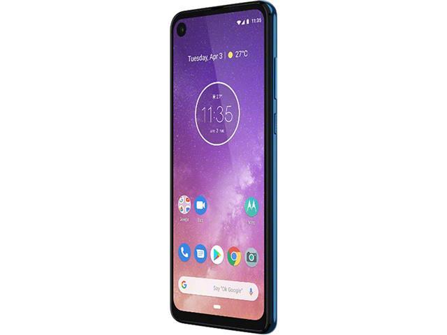 "Smartphone Motorola One Vision 128GB 6.3"" 4G Câmera 48+5MP Azul Safira - 4"