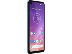 "Smartphone Motorola One Vision 128GB 6.3"" 4G Câmera 48+5MP Azul Safira - 5"
